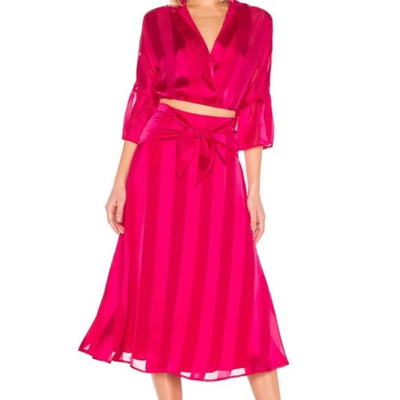 House of Harlow 1960 Dresses & Skirts - NWOT House of Harlow 1960 Amalia Skirt in Fuschia